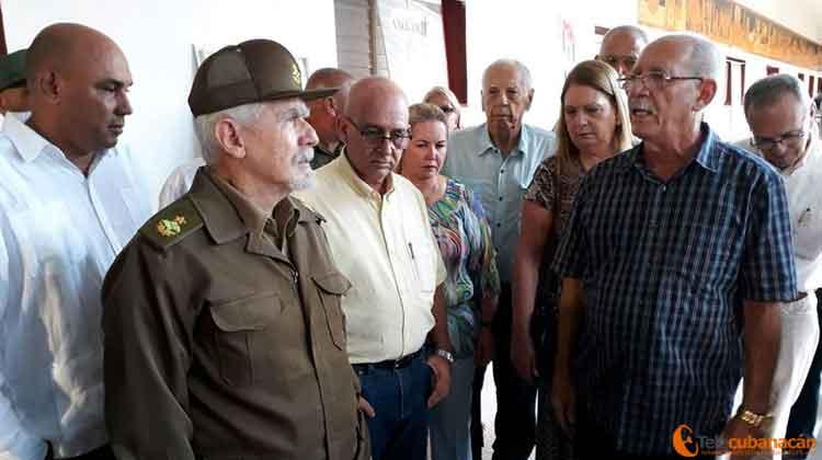 Como parte de la jornada, el Comandante de la Revolución desarrolló una visita de trabajo a la provincia.