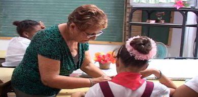 Se mantiene el reinicio del curso escolar el 1ro. de septiembre