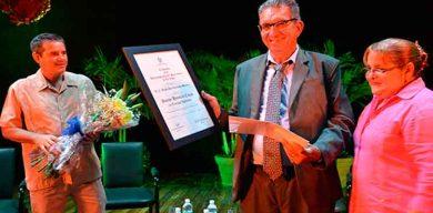 Sergio Rodríguez Morales, Doctor Honoris Causa por la Universidad Central