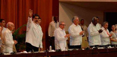 Ninguna causa justa nos es ajena, afirmó Díaz-Canel en Encuentro Antimperialista