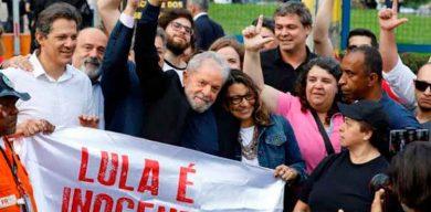 Lula libre tras decisión del Supremo Tribunal Federal de Brasil