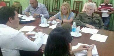 Evalúa Ramiro Valdés inversiones y programas priorizados en Sagua la Grande