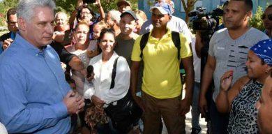 Encabeza Díaz-Canel segunda visita gubernamental a la provincia Ciego de Ávila