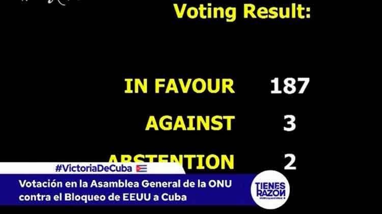 votaciones ONU