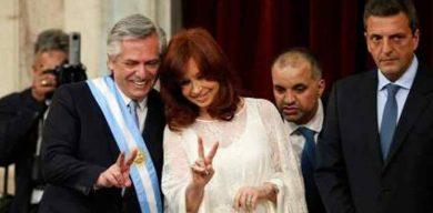 Alberto y Cristina Fernández son juramentados como nuevo equipo de Gobierno argentino