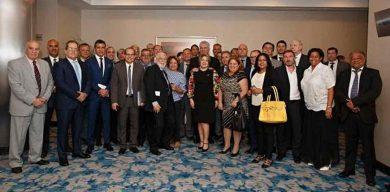 Díaz-Canel se reúne con empresariado argentino en Buenos Aires