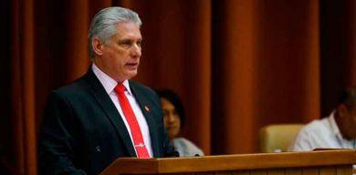 Díaz-Canel en el Parlamento cubano: Unidos hemos vencido, unidos venceremos