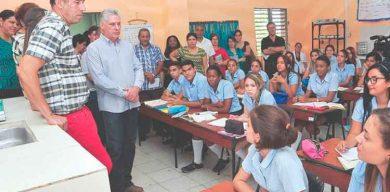 La FEEM se empina, dijo Díaz-Canel