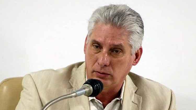 Miguel Díaz Canel, presidente de la República de Cuba en el cuarto periodo ordinario de sesiones de la IX Legislatura de la ANPP. Foto: Abel Padrón Padilla/Cubadebate.