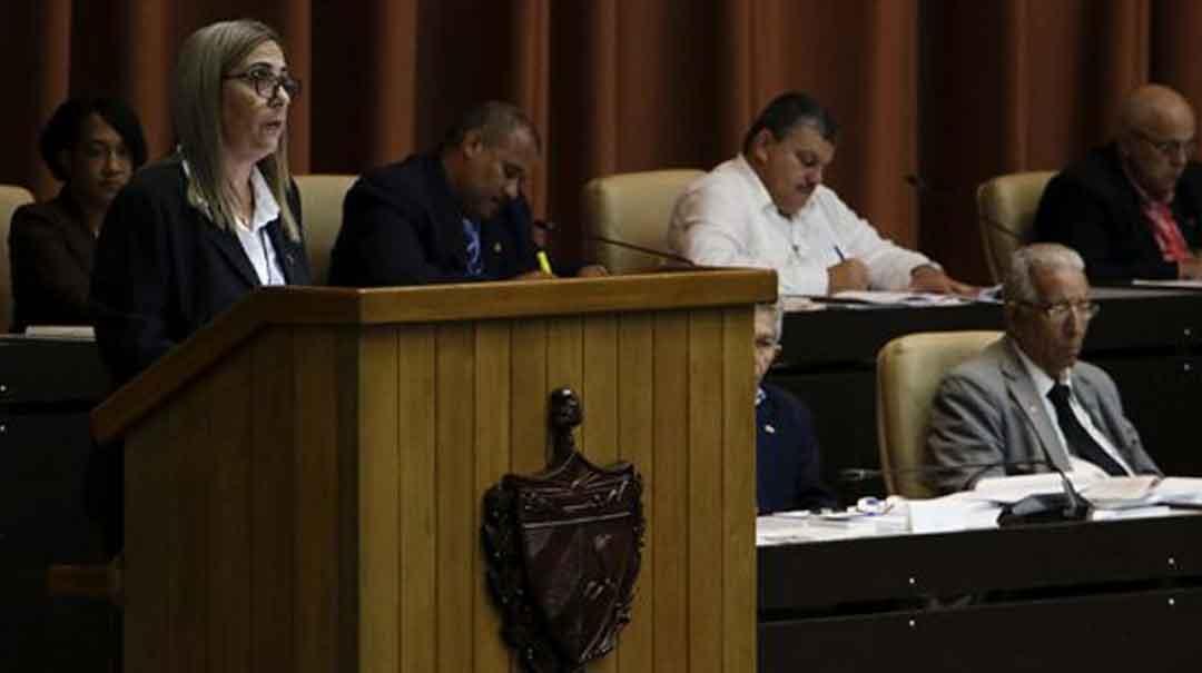 Meisi Bolaños Weiss, ministra de Finanzas y Precios. Foto: Abel Padrón Padilla/ Cubadebate.
