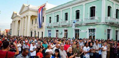 Celebra Santa Clara acto por el aniversario 61 del triunfo de la Revolución