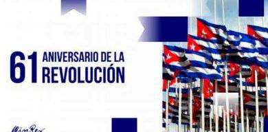 Recibe Cuba felicitaciones de gobiernos y pueblos en el aniversario 61 del Triunfo de la Revolución