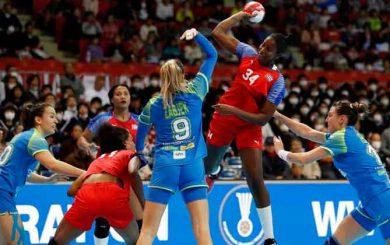 Buen cierre de año para el balonmano femenino cubano