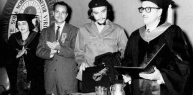 Celebrará Universidad Central aniversario 60 de investidura del Che con el título de Doctor Honoris Causa