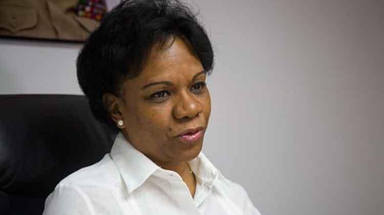 Inés María Chapman, vicepresidenta del Consejo de Ministros de Cuba. Foto: Irene Pérez/ Cubadebate.