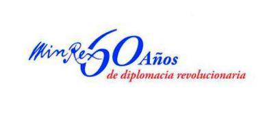 Felicita presidente Díaz-Canel al Minrex por sus 60 años