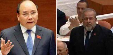 Felicita Vietnam al nuevo primer ministro de Cuba
