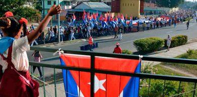 Santiago de Cuba rindió tributo a Fidel, en el tercer aniversario de sus honras fúnebres