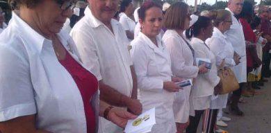 Conmemoran en Vueltas, 59 Aniversario de la caída en combate del doctor Manuel Fajardo