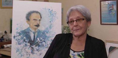 La pintora y sus muchos Martí