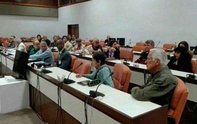 Consejo Nacional de la Uneac sesiona en el Palacio de Convenciones