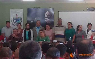 Delegados de Manicaragua eligen el Intendente del municipio