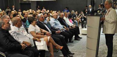 Presidente y Primer Ministro de Cuba asisten al segundo taller Cuba Sabe 2020