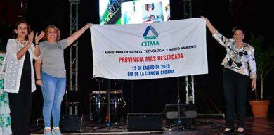 Celebran en Villa Clara acto nacional por el Día de la Ciencia Cubana