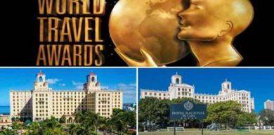 Premia World Travel Awards a Hotel Nacional de Cuba