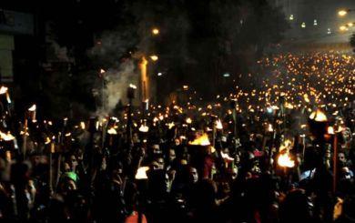 Tradicional Marcha de las Antorchas se realizará esta vez en redes sociales