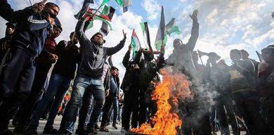 """Israel arremete brutalmente contra palestinos en protestas por """"acuerdo del siglo"""""""