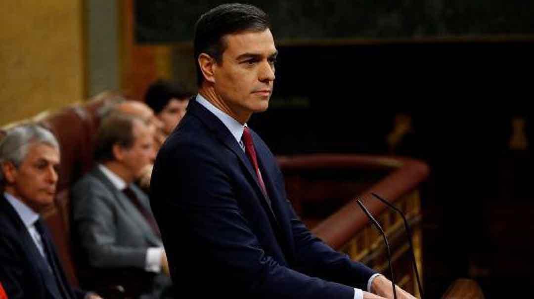 Sánchez recibe el apoyo del Congreso a casi un año de gestión interina, luego de la moción de censura contra Mariano Rajoy. Foto: Tomada de Telesur