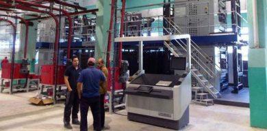 Avanza proyecto de reconversión tecnológica del poligráfico de Villa Clara
