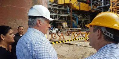 Presidente cubano inicia visita gubernamental a Artemisa