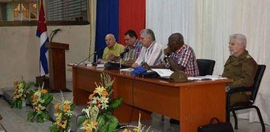 Continúa visita gubernamental a Cienfuegos