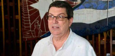 Reconoce Bruno Rodríguez apoyo de cubanos en el exterior a lucha contra el bloqueo