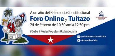 Hoy, Foro Debate y tuitazo «A un año del Referendo Constitucional»