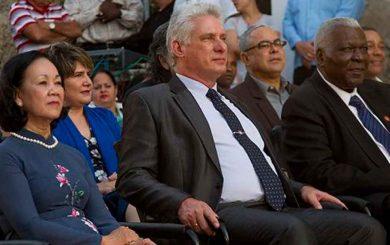 Abre las puertas la XXIX Feria Internacional del Libro en presencia del presidente cubano