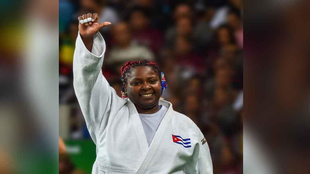Idalis Ortiz ratificó su clase con una medalla de oro. Foto: Marcelino Vázquez