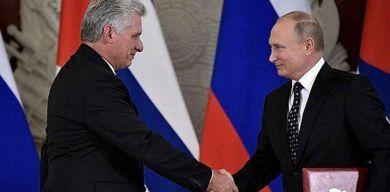 Vladímir Putin aceptó la invitación de Díaz-Canel para visitar Cuba