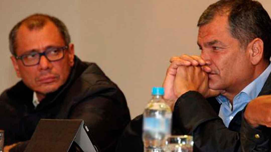El juicio contra el expresidente Rafael Correa, el exvicepresidente Jorge Glas y otras 19 personas comenzó en la Corte Nacional de Justicia, por el caso Sobornos. Foto: El Comercio/Archivo.