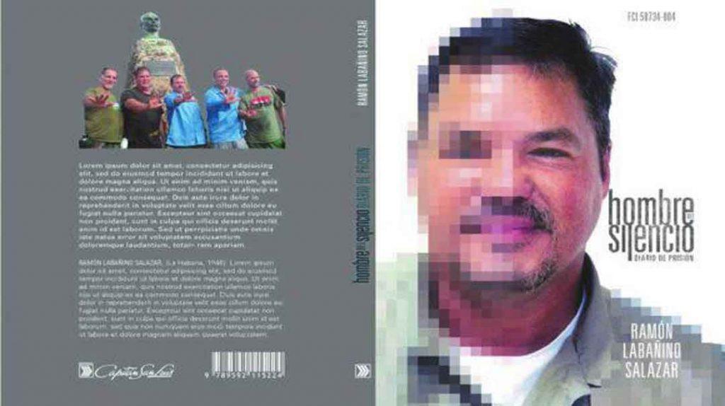 Portada y contraportada del libro Hombre del silencio. Foto: Cubadebate