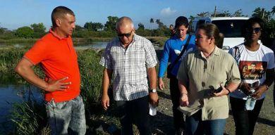 Desarrolló Primera Secretaria del PCC en Villa Clara, visita a centros de la Industria Alimentaria y la Pesca