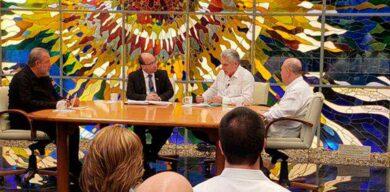 Gobierno cubano, encabezado por el Presidente, informa sobre reforzamiento de medidas contra la Covid-19