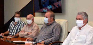 Díaz-Canel: Las medidas ante la COVID-19 están dando resultados, pero no podemos confiarnos
