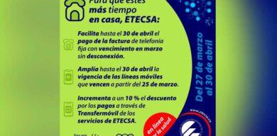 ETECSA amplía vigencia de líneas móviles y flexibiliza pago de factura telefónica