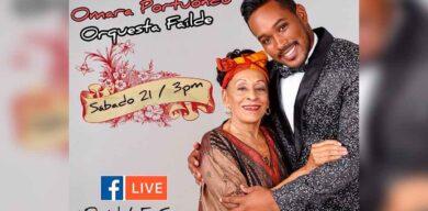 Omara Portuondo y Orquesta Failde se unen este sábado a los conciertos online