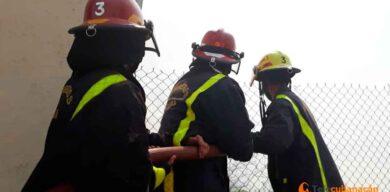 En acción, Semana Nacional de Protección contra Incendios