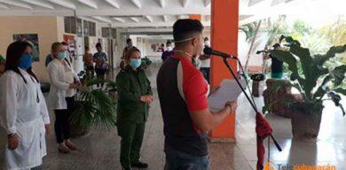 Trabajadores del INDER hacen frente a la COVID-19 en Villa Clara