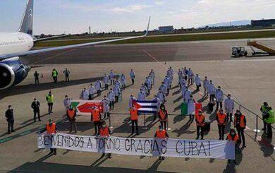 Cuba comparte lo que tiene y da vida